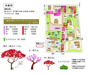 樹木整備事業・ご奉納料